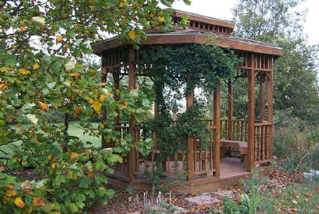 Gazebo in Autumn
