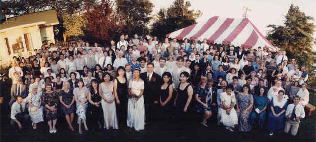 Garden Wedding with 200 in Attendance